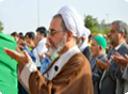 گزارش تصویری نماز عید فطر میبد به امامت آیت الله اعرافی