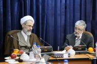 گزارش تصویری / دیدار شورای تحول علوم انسانی با آیت الله اعرافی