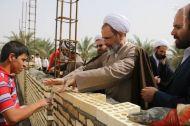 عکس/ بازدید آیتالله اعرافی از اردوی سازندگی طلاب غیر ایرانی