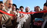 تصاویر/ آئین بهره برداری از مسکن طلاب شهرستان بافق با حضور آیت الله اعرافی