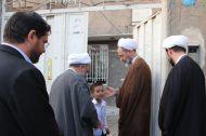گزارش تصویری / دیدار آیت الله اعرافی با خانواده های شهدای مدافع حرم در مشهد