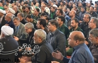 گزارش تصویری مراسم بزرگداشت بیست و ششمین سالگرد ارتحال مرحوم حاج شیخ محمدابراهیم اعرافی رحمه الله علیه امام جمعه فقید میبد