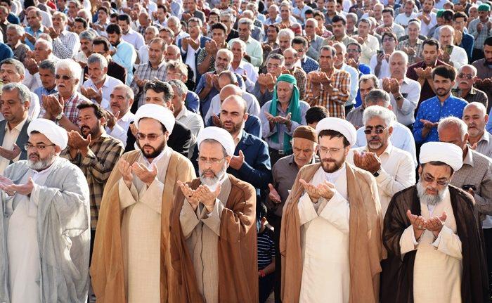 گزارش تصویری نماز عید فطر میبد 25 خرداد 1397